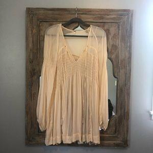 Free People Dress w/ Slip